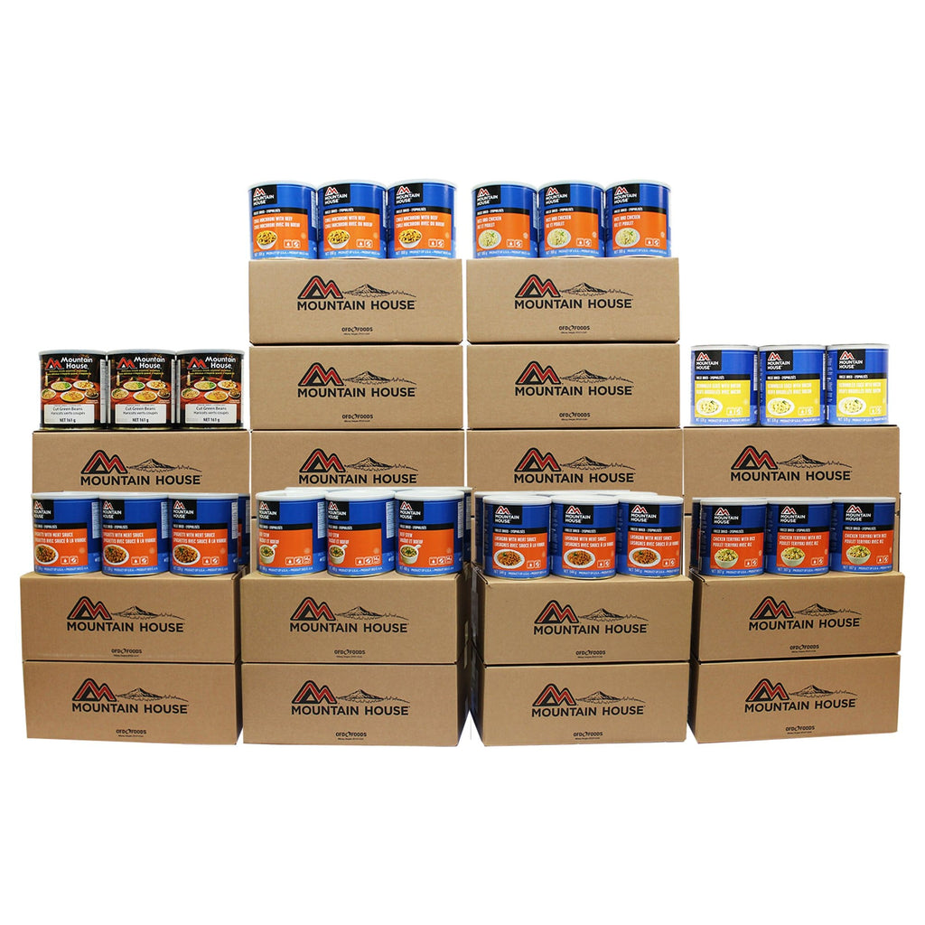2172 Serving Breakfast, Lunch and Entree Package - 192 cans (Mountain House®)
