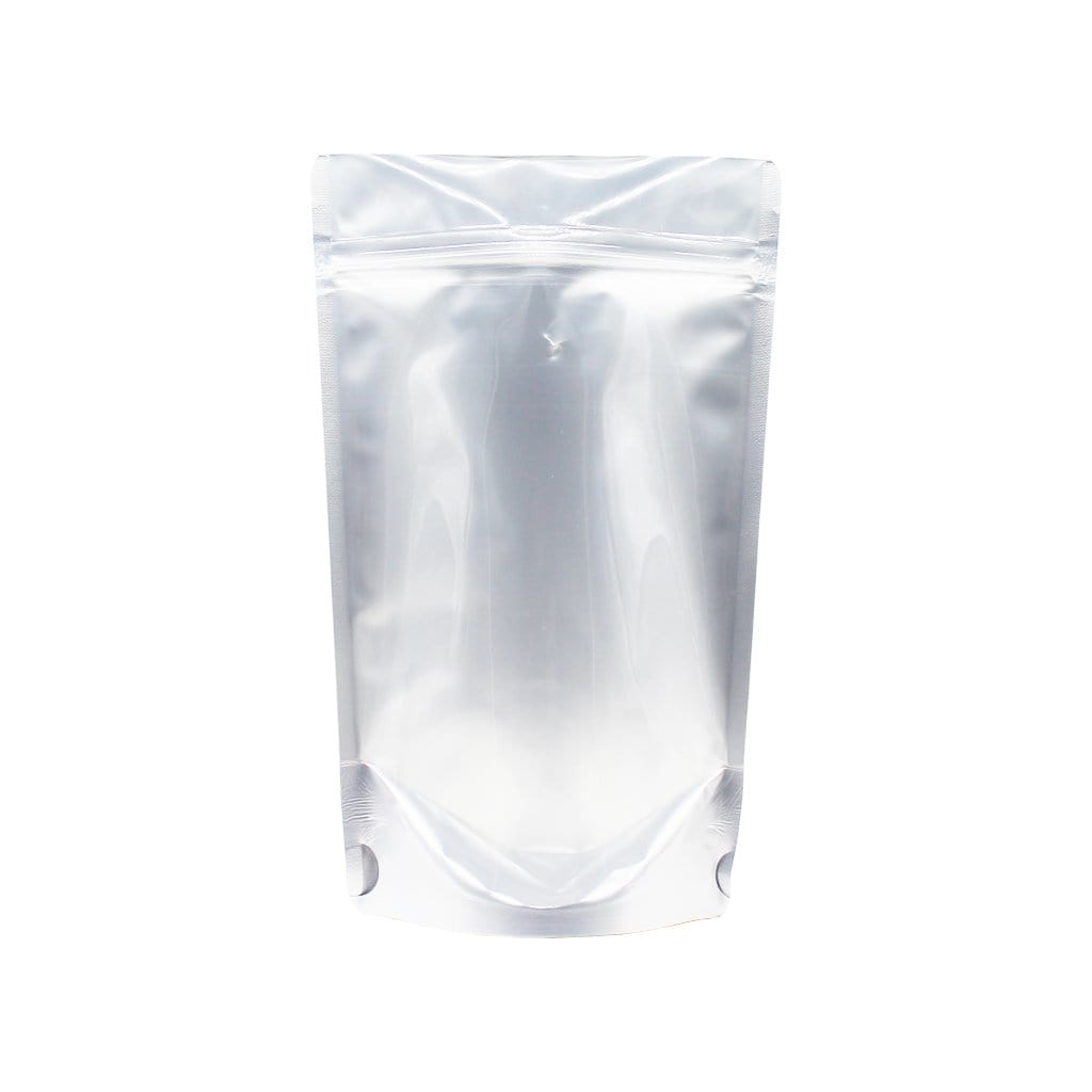 "4 oz Stand Up Pouch (One Side Clear) - 5.0 Mil  (8"" x 5"" x 3"")"