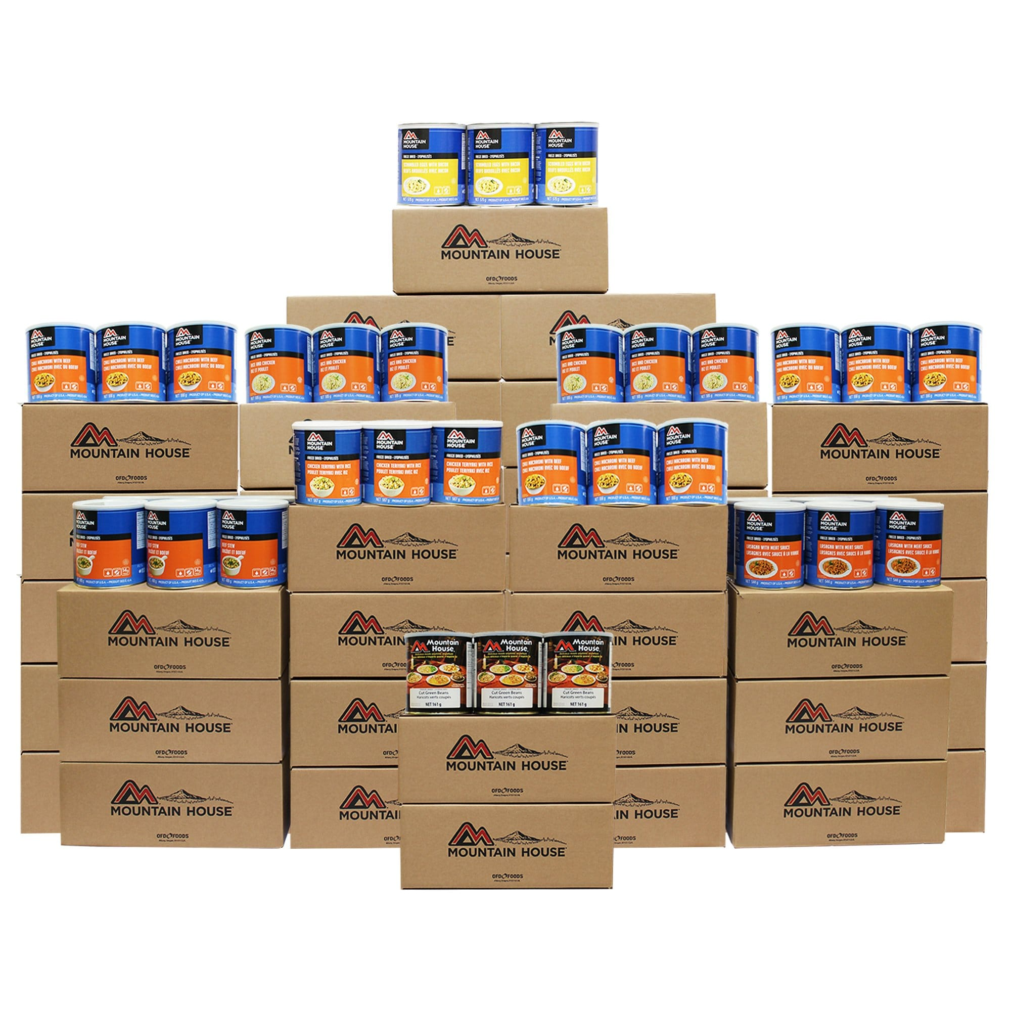 4248 Serving Breakfast, Lunch and Entree Package - 378 cans (Mountain House®)