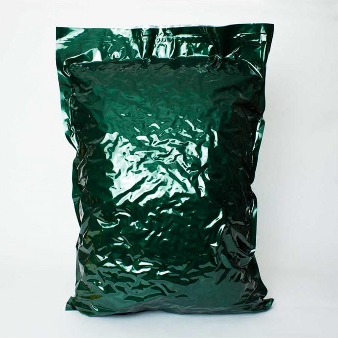 Green Myler Foil Bag Large