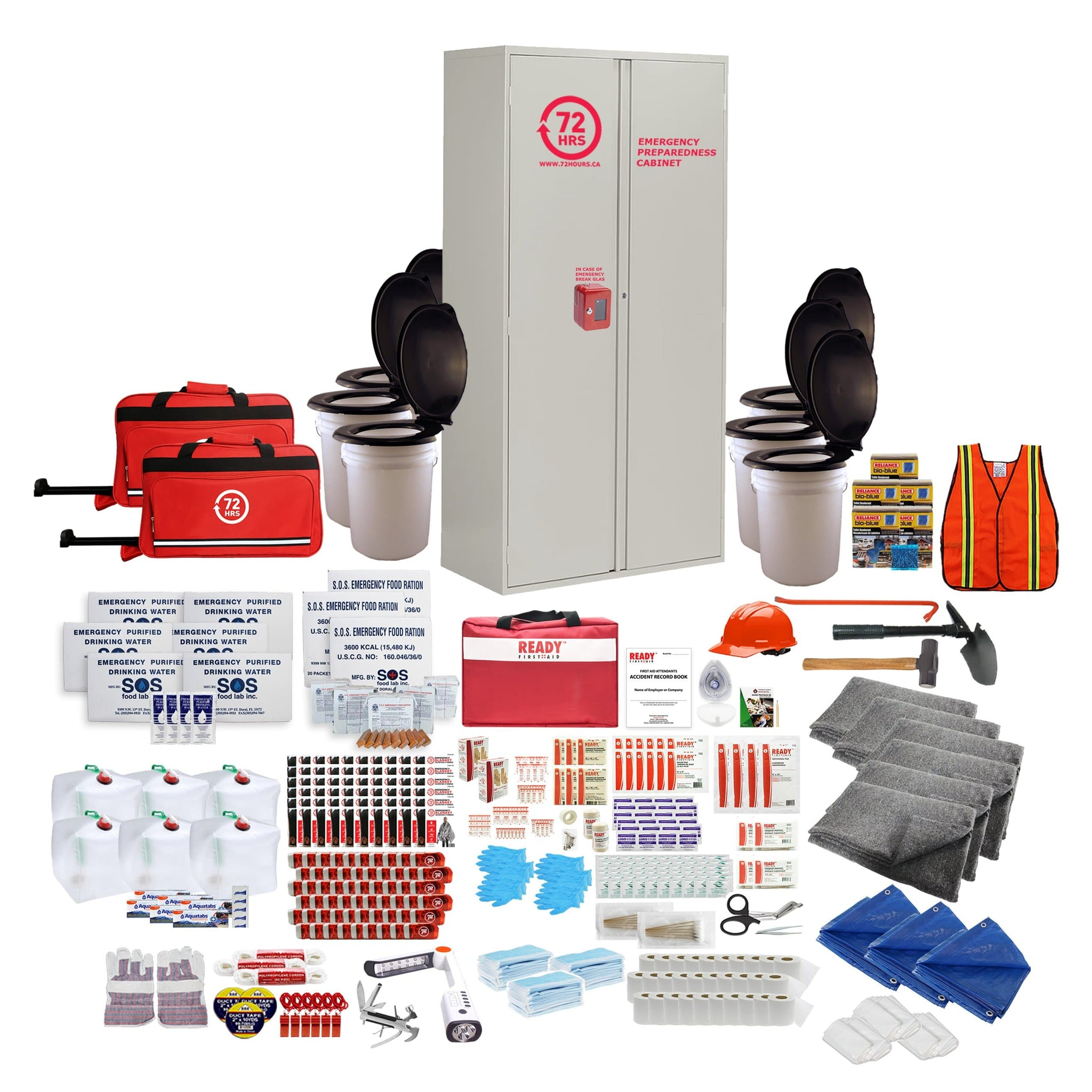 60 Person Emergency Cabinet Kit