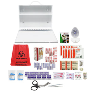 Alberta Level 1 First Aid Kit (2 to 10 employees) Metal Case - Ready First Aid™
