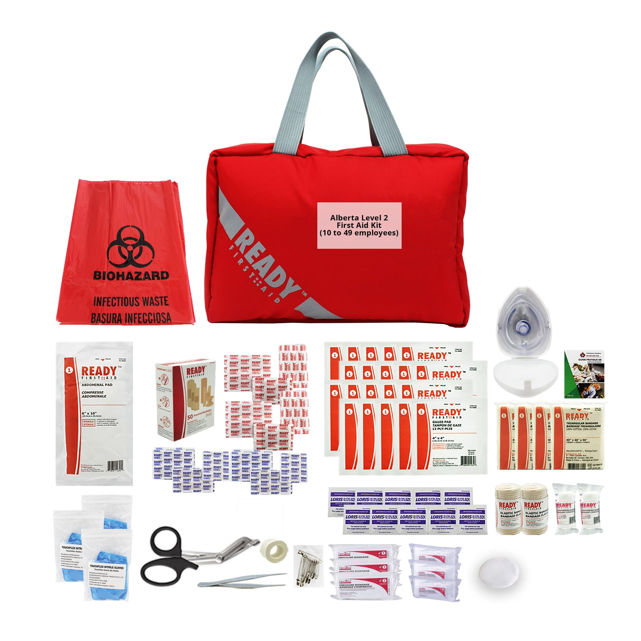 Alberta Level 2 First Aid Kit (10 to 49 employees) - Ready First Aid™