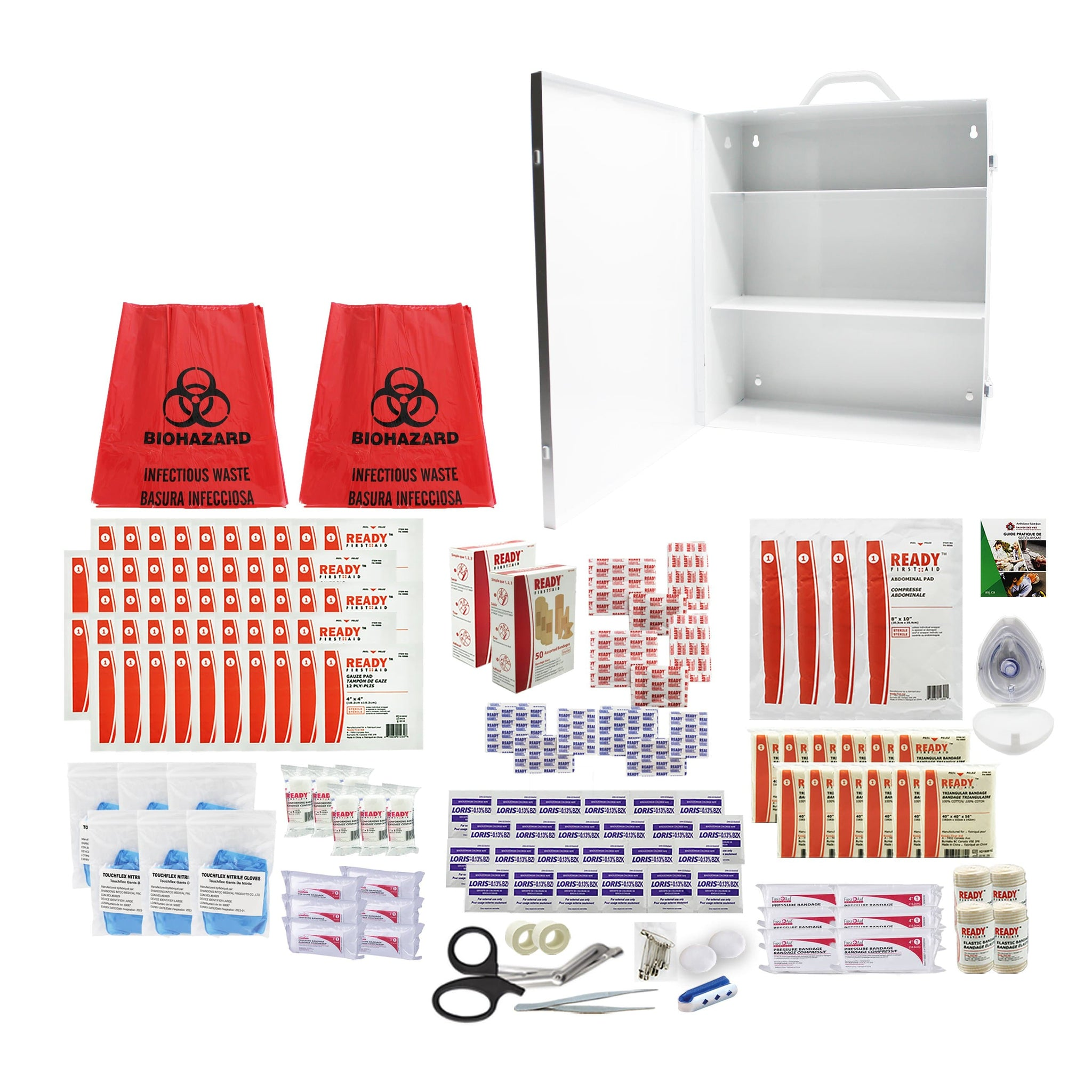 Alberta Level 3 First Aid Kit (50 to 100 employees) Metal Case - Ready First Aid™