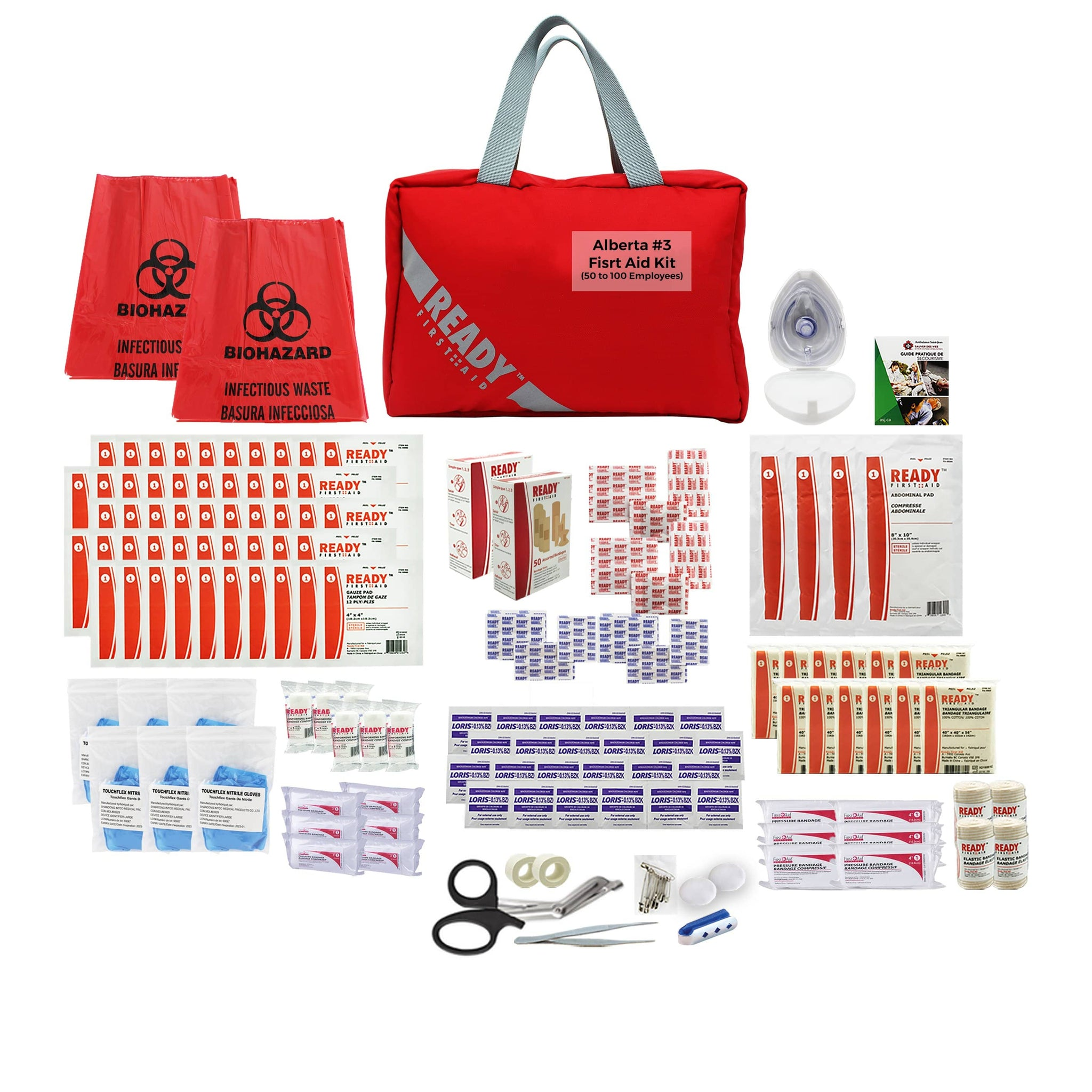 Alberta Level 3 First Aid Kit (50 to 100 employees) - Ready First Aid™