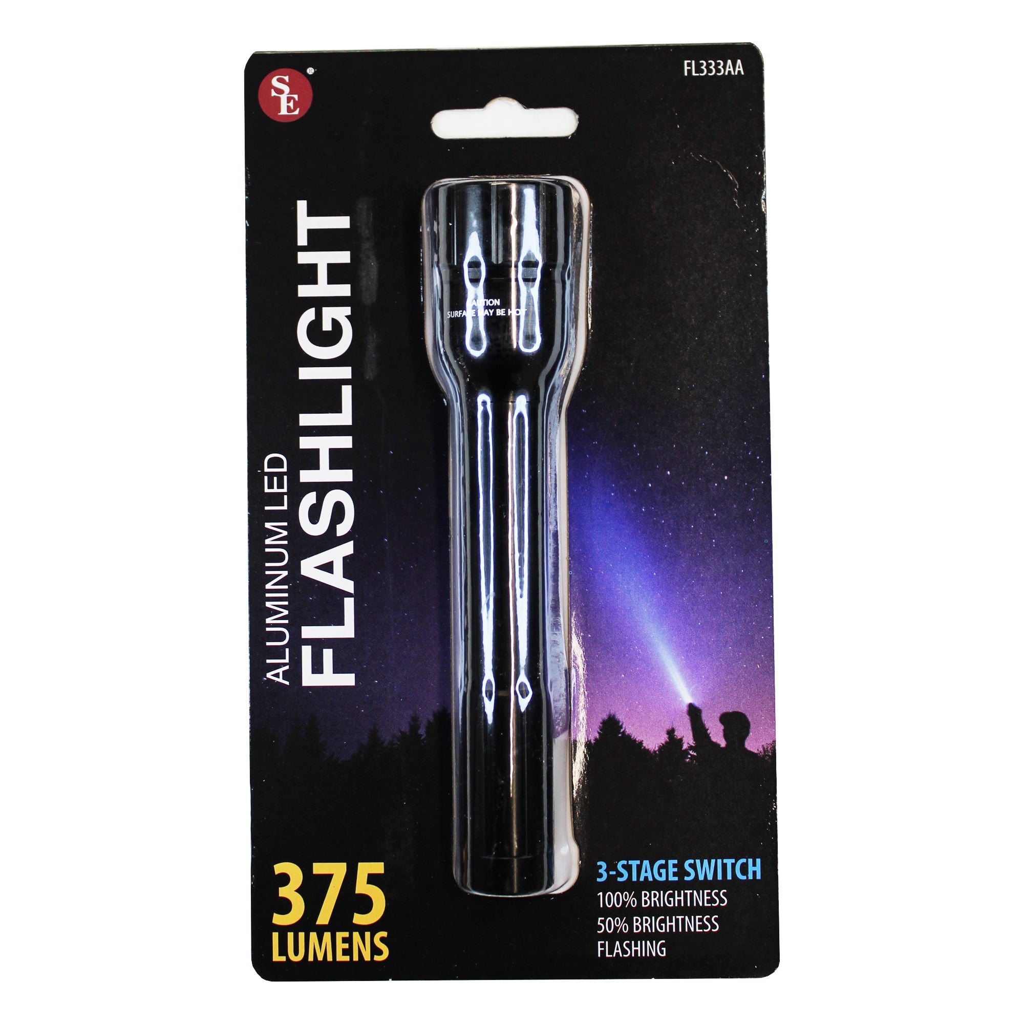 375 Lumen Aluminum LED Flashlight