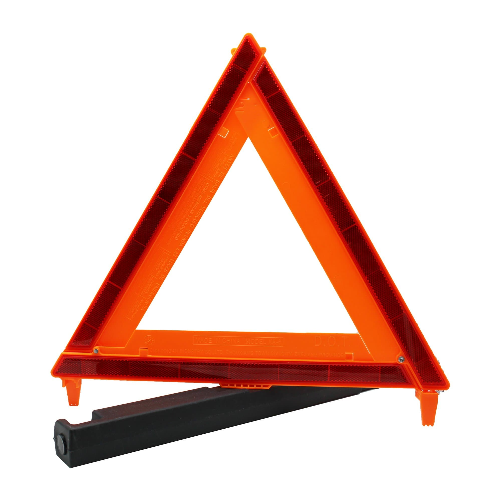 auto-emergency warning triangle
