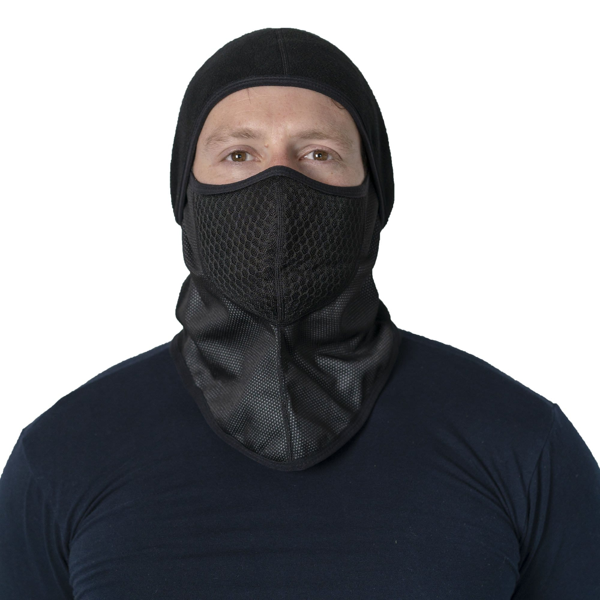 Balaclava with Replaceable Air Filter, All Purpose, Black - 72HRS