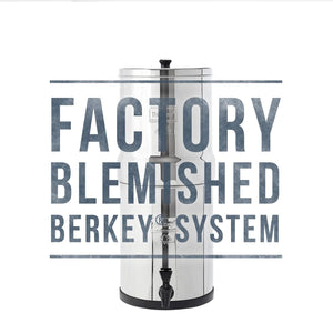 Blemished Big Berkey®System - 2.25 Gallon with 2 Black Elements