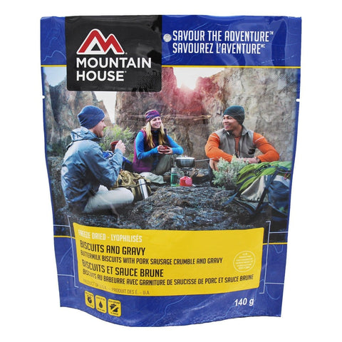 Biscuits and Gravy Pouch - Two Serving (Mountain House®)