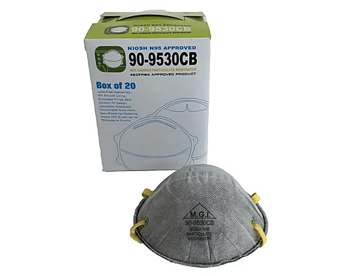 N95 Carbon Particulate Respirator Pack of 20