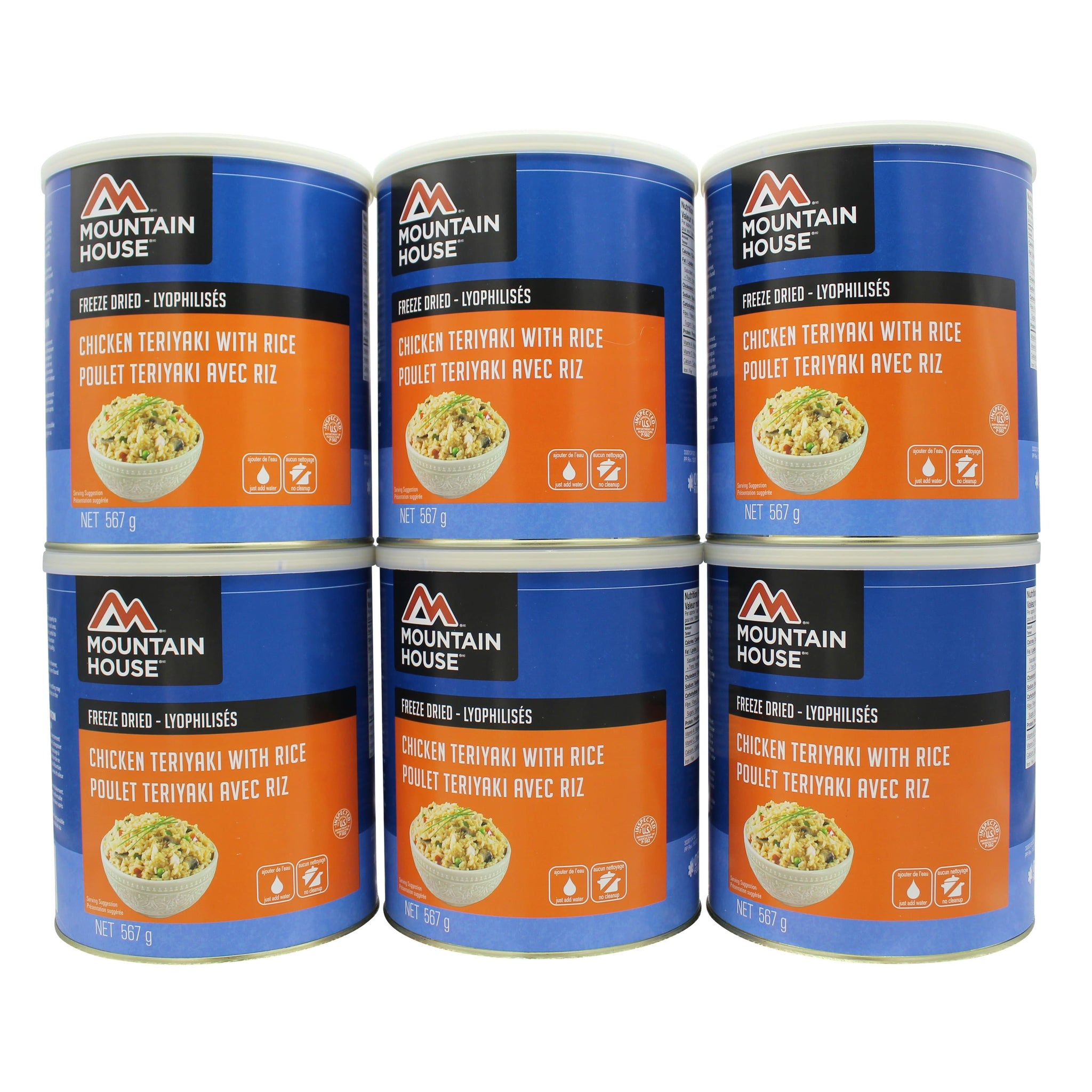 Chicken Teriyaki with Rice #10 Can Package (Mountain House®)