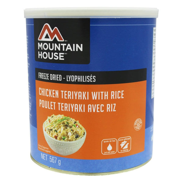 Chicken Teriyaki with Rice #10 Can (Mountain House®)
