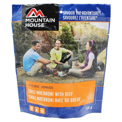 Chili Mac with Beef - Two Serving (Mountain House®)