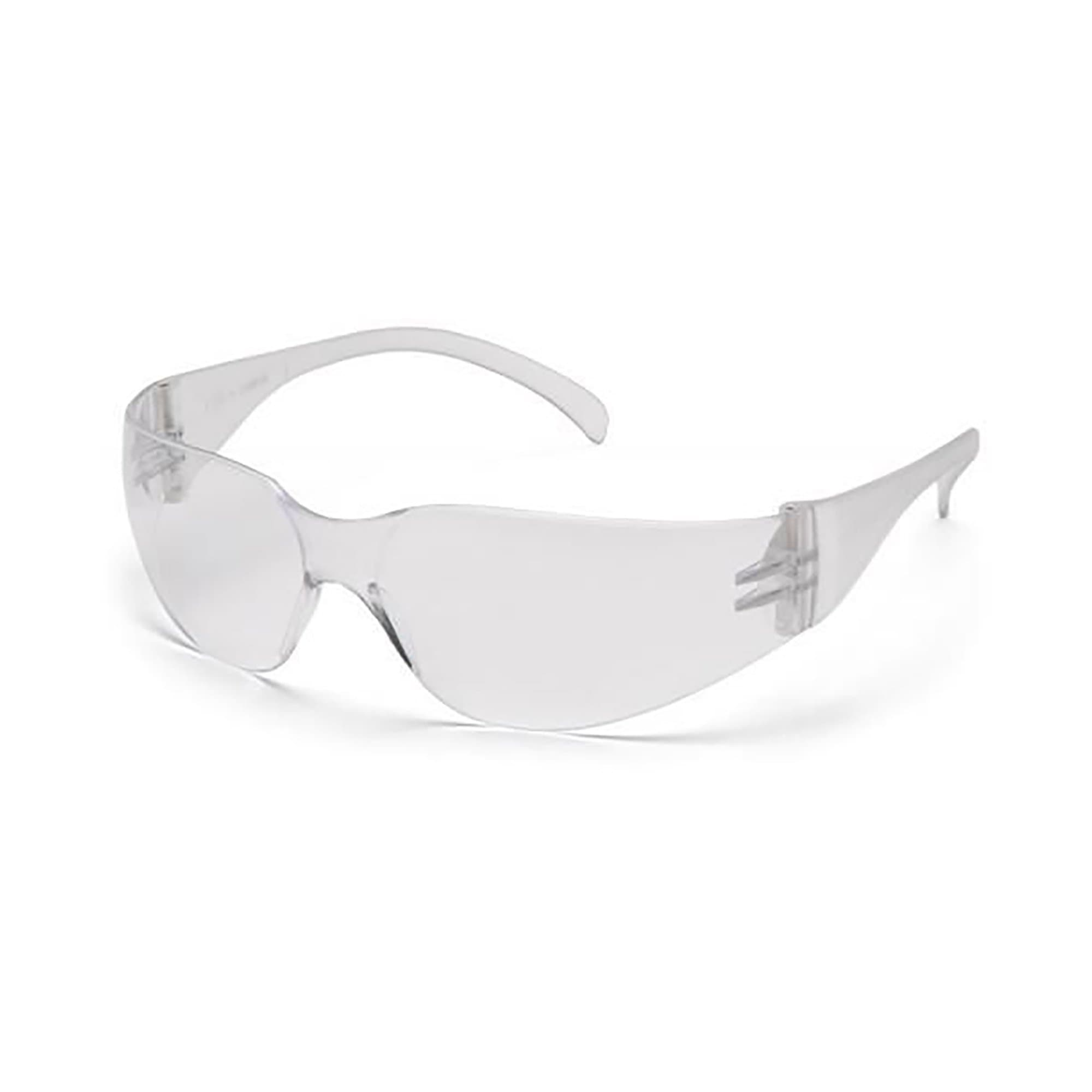 Safety Glasses Clear Scratch Resistant Lens: CSA Z94.3 and ANSI Z87.1 Compliant