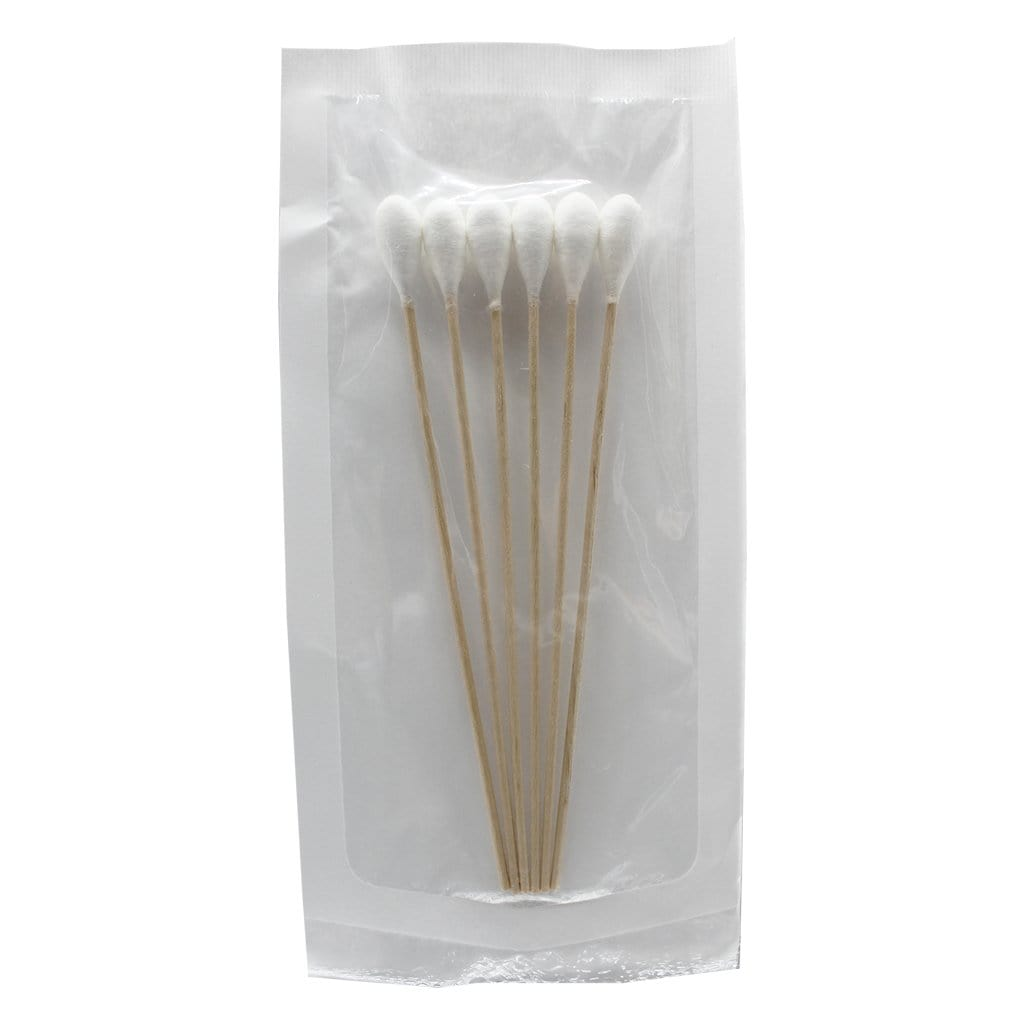 Cotton Tip Applicators 15.24cm (6/pk)
