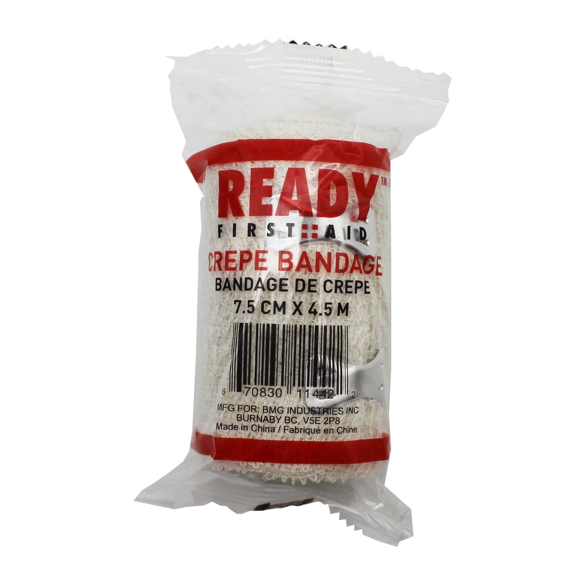 Crepe Bandage, 7.5cm x 4.5cm - Ready First Aid