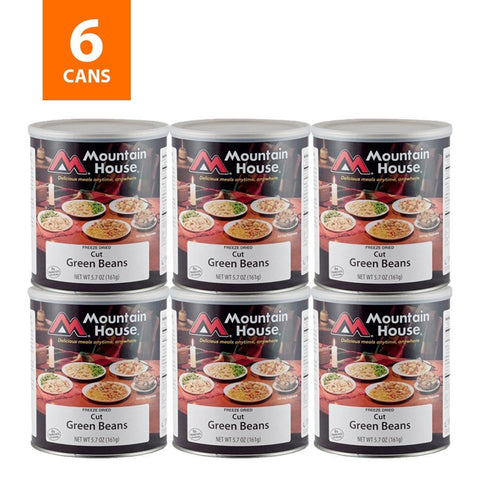 Green Beans #10 Can Package (Mountain House®)