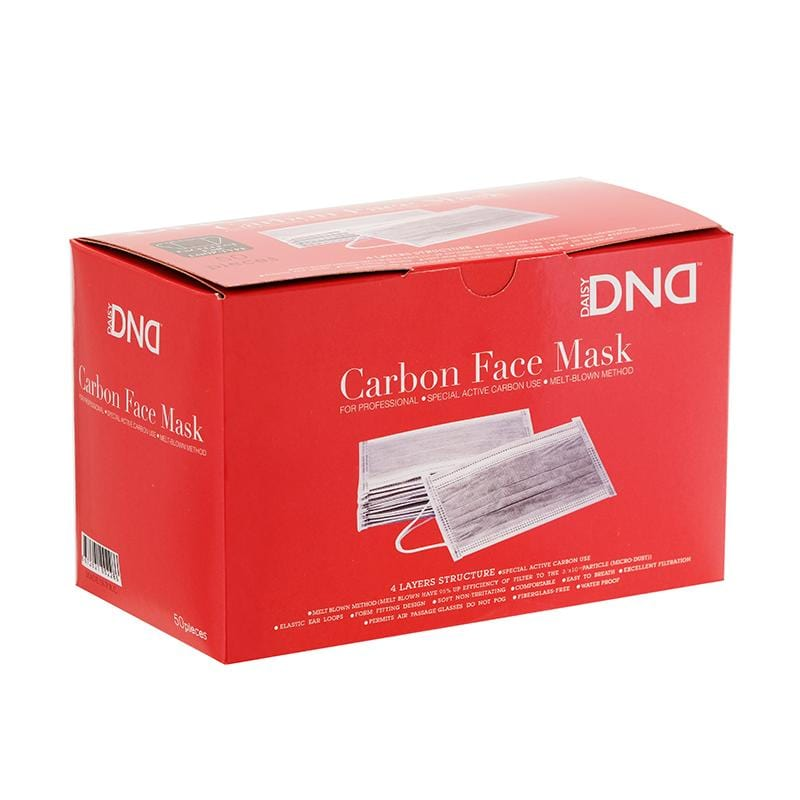 Carbon Face Mask - 4 Layer Pack of 50