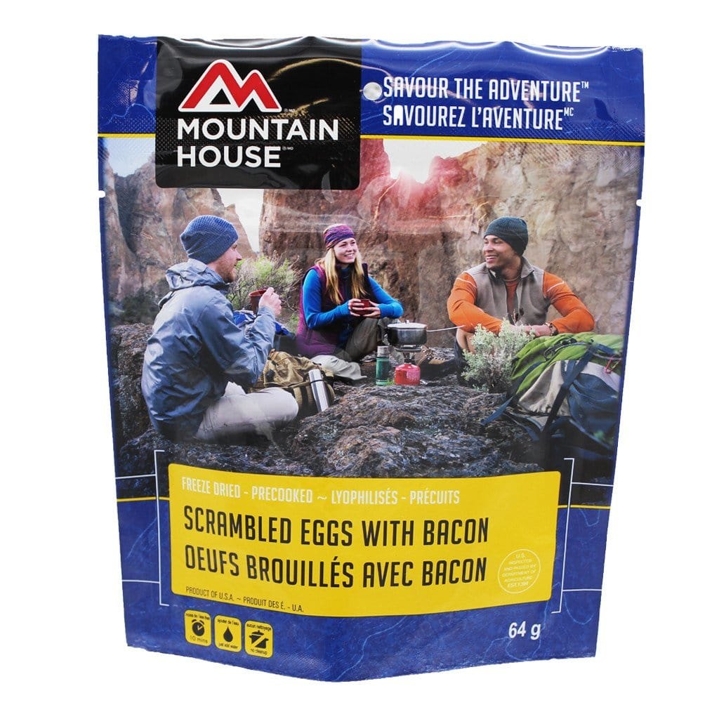 Mountain House Scrambled Eggs With Bacon Pouch