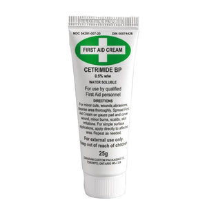 First Aid Cream 25mg (Cetrimide 0.5%)