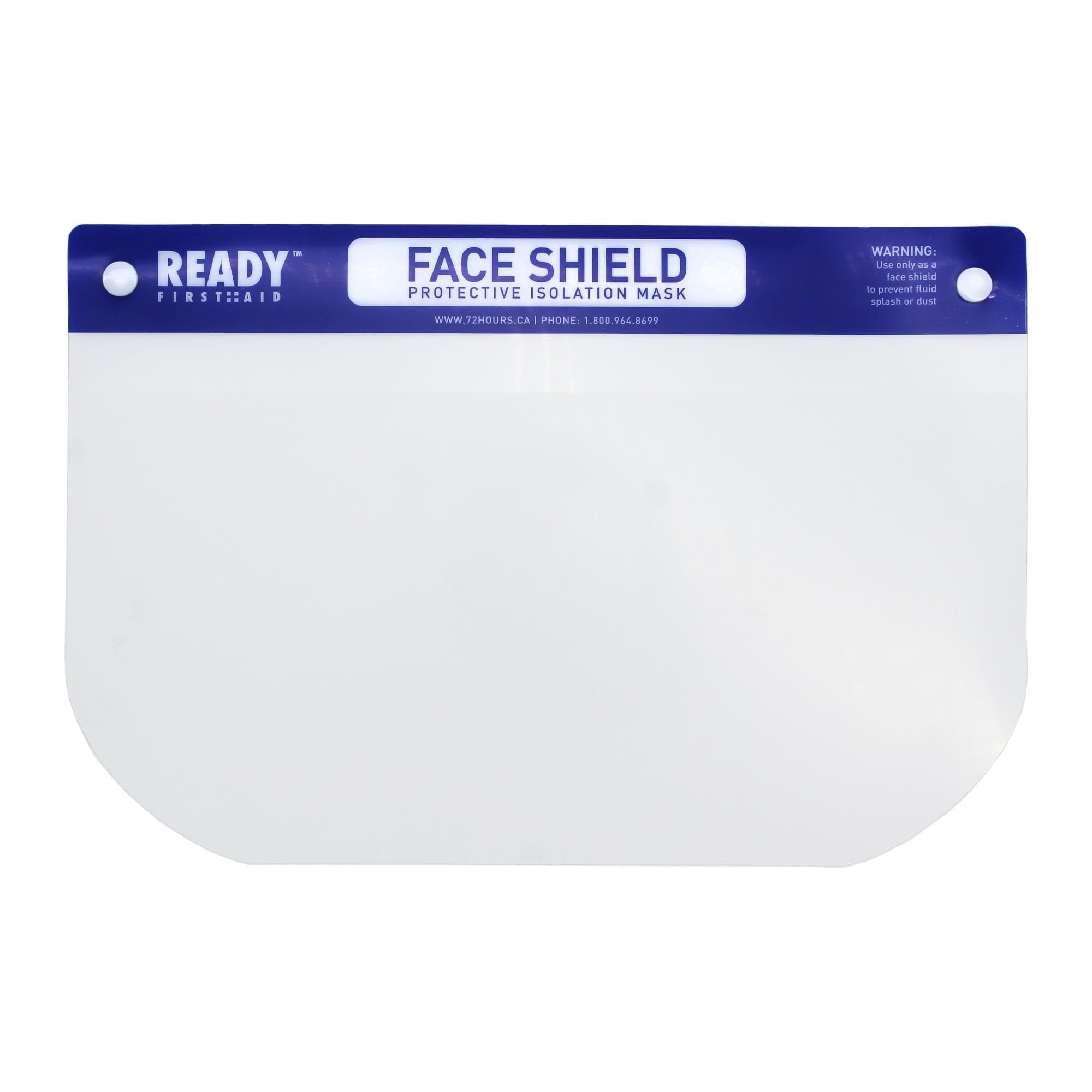 Face Shield, Front View, Ready First Aid