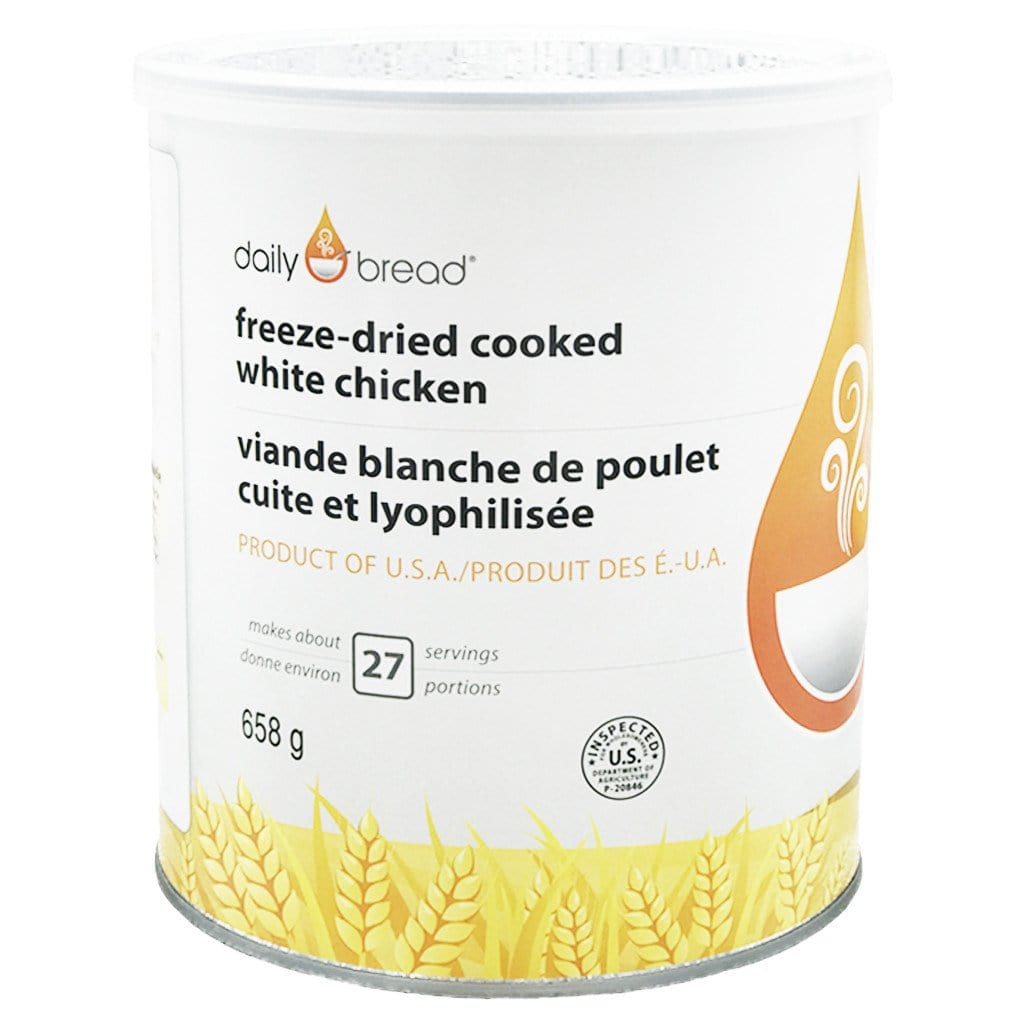 Freeze-Dried Cooked Chicken- Daily Bread®