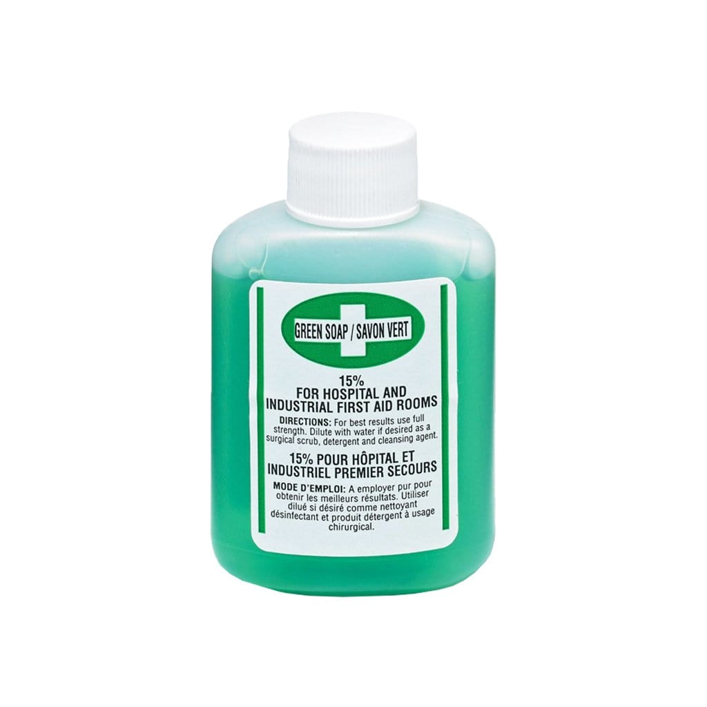 Green Soap, Antiseptic Cleanser, 60ml