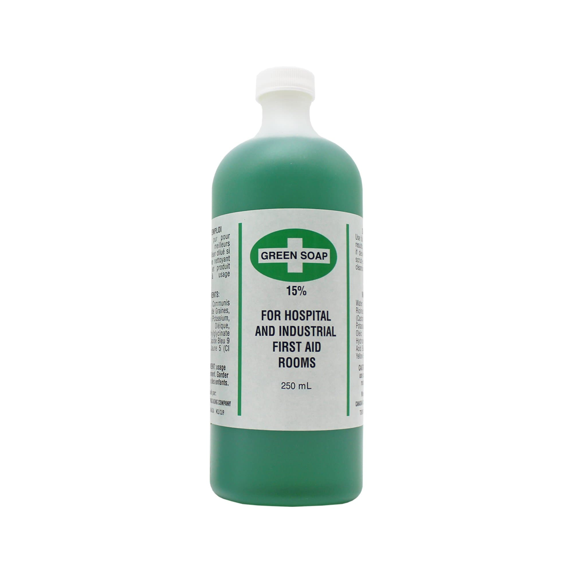 Green Soap, Antiseptic Cleanser, 250ml