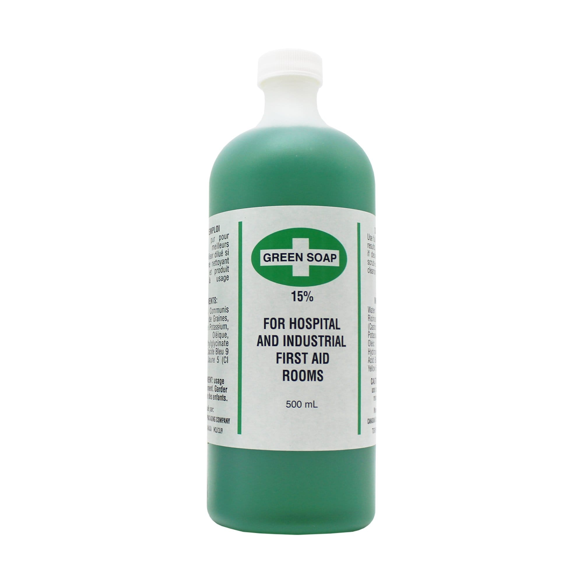 Green Soap, Antiseptic Cleanser, 500ml