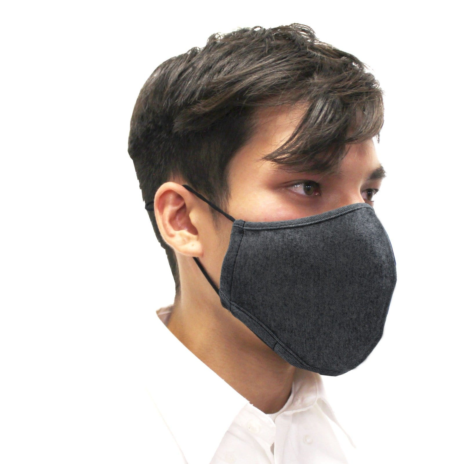 Reusable Face Mask, 3-Layer, Grey, V2 - Ready First Aid
