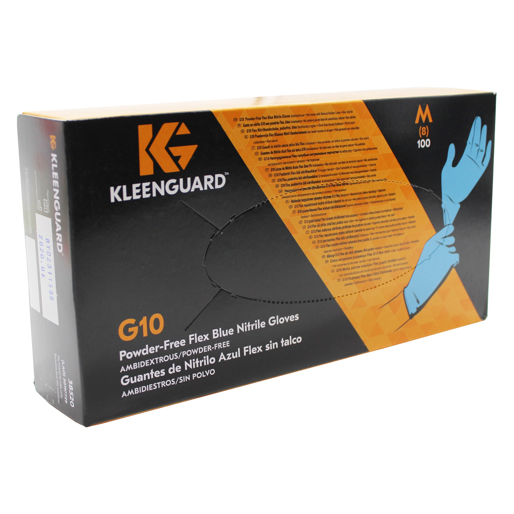 Nitrile Gloves KleenGuard Box of 100 Medium Size