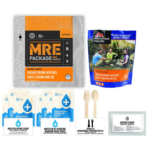 Mountain House Chicken Teriyaki With Rice Pouch - Emergency Food Pack