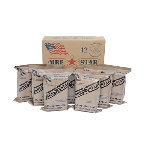 MRE Standard Complete 12 Meal Case (with heaters)
