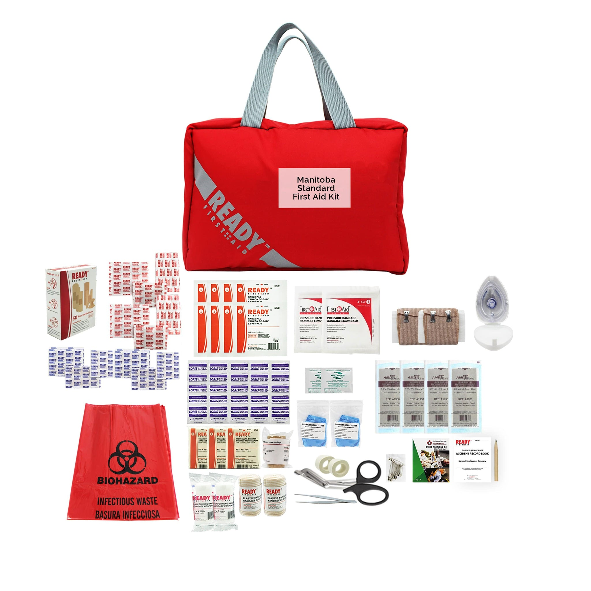Manitoba Standard First Aid Kit