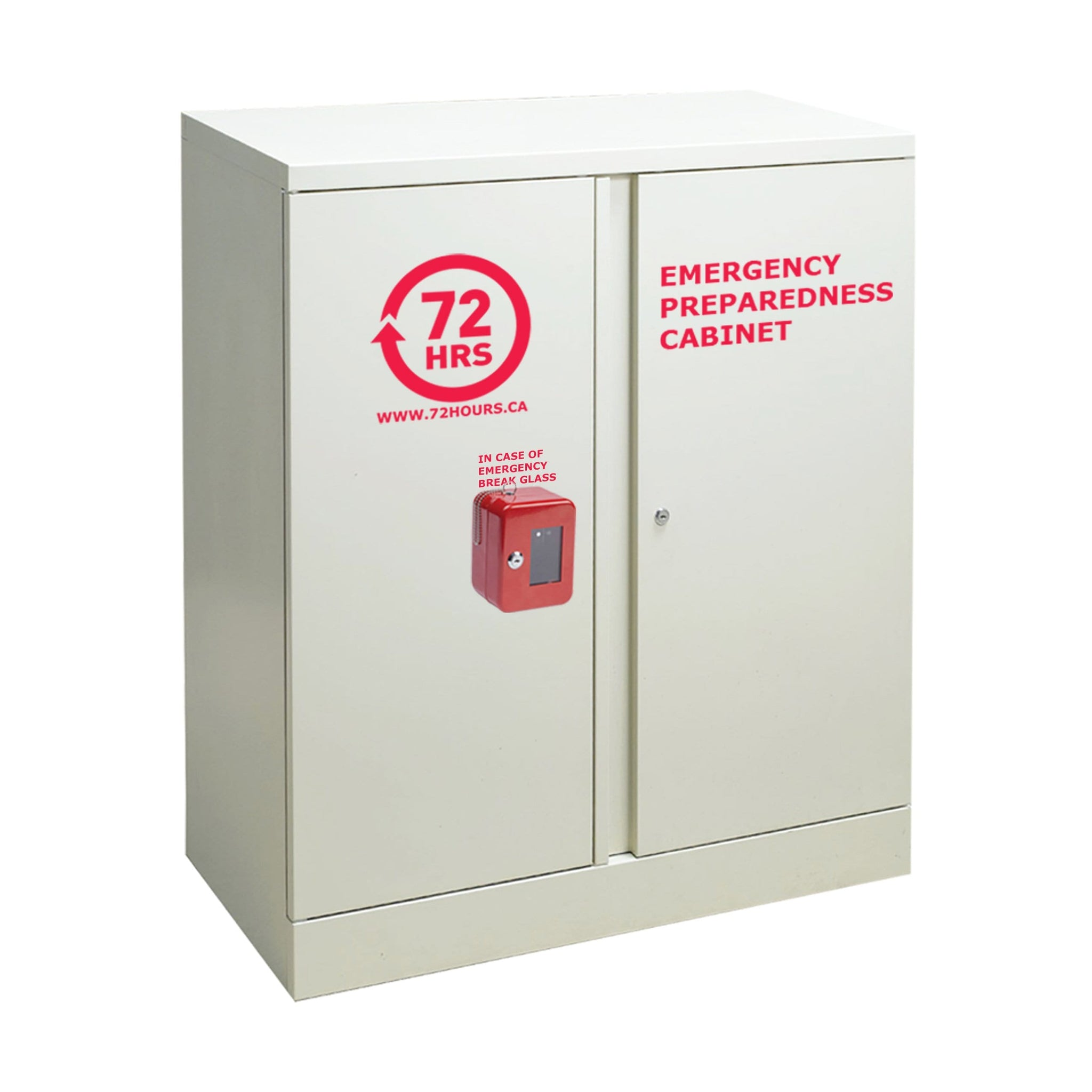 "72 HOURS 40"" Grey Storage Emergency Cabinet"