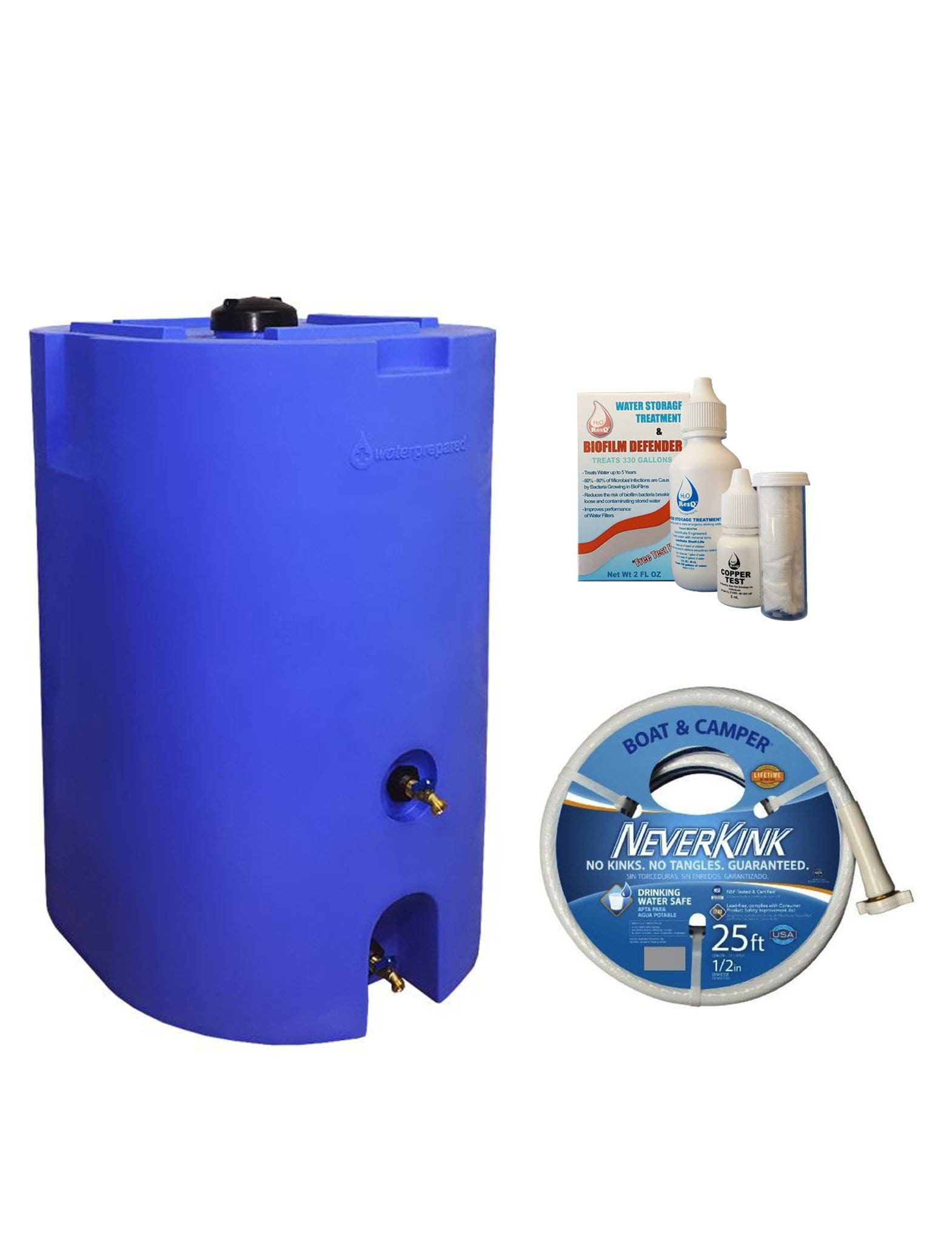 0116fc70659 One-Tank 160 Gallon Water Storage System