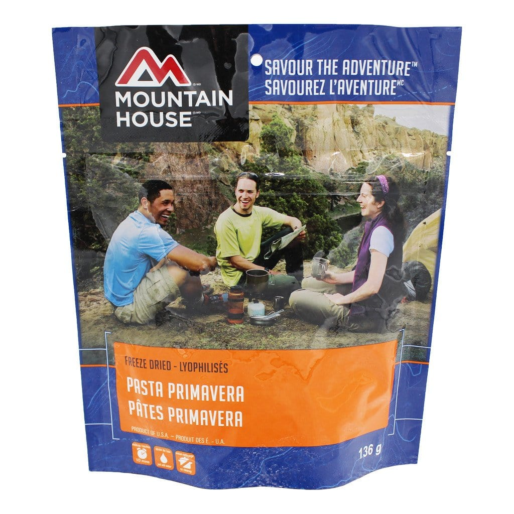 Pasta Primavera Pouch - Two Serving (Mountain House®)