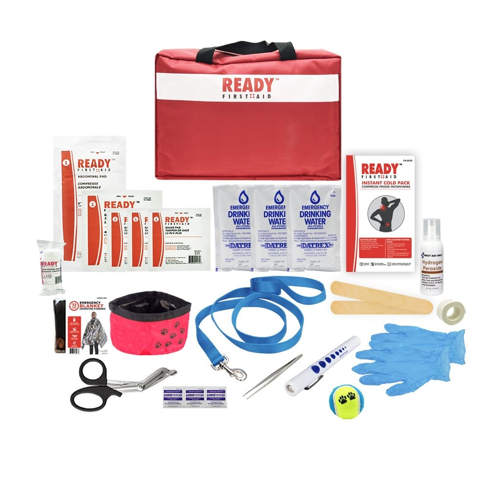 Pet First Aid Kit Deluxe (Veterinarian Approved)