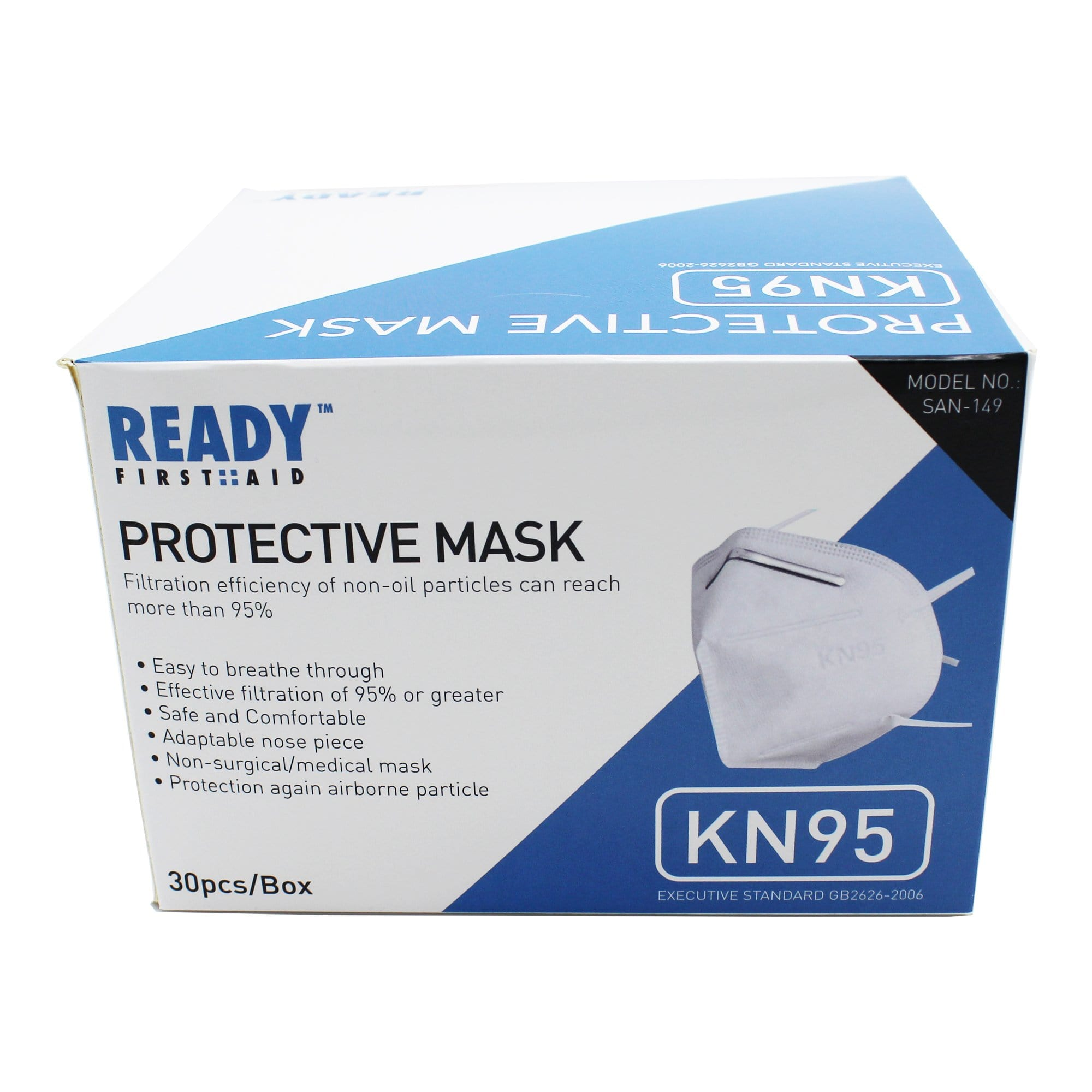 KN95 Protective Mask 4 Layer Box of 30 (As low as $3.00 Per Mask)