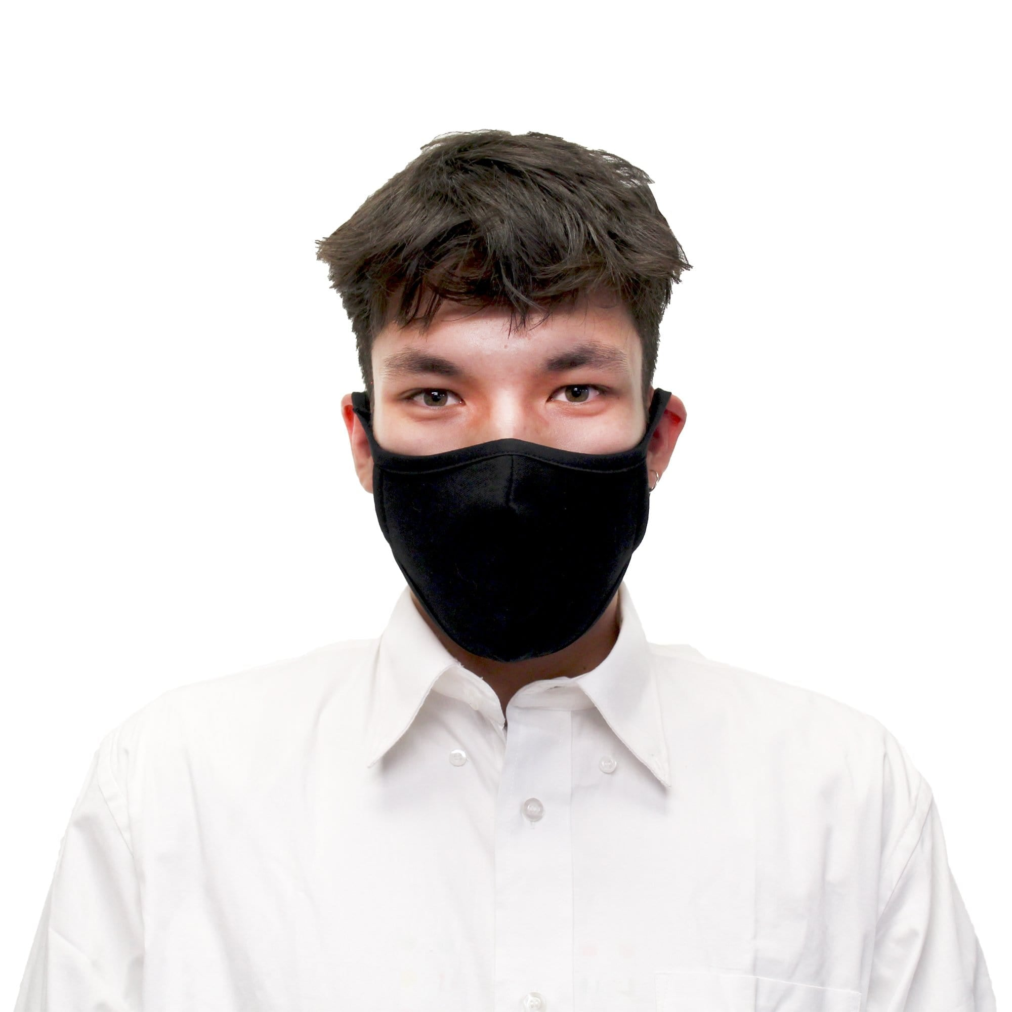 Reusable Face Mask, Black - Ready First Aid