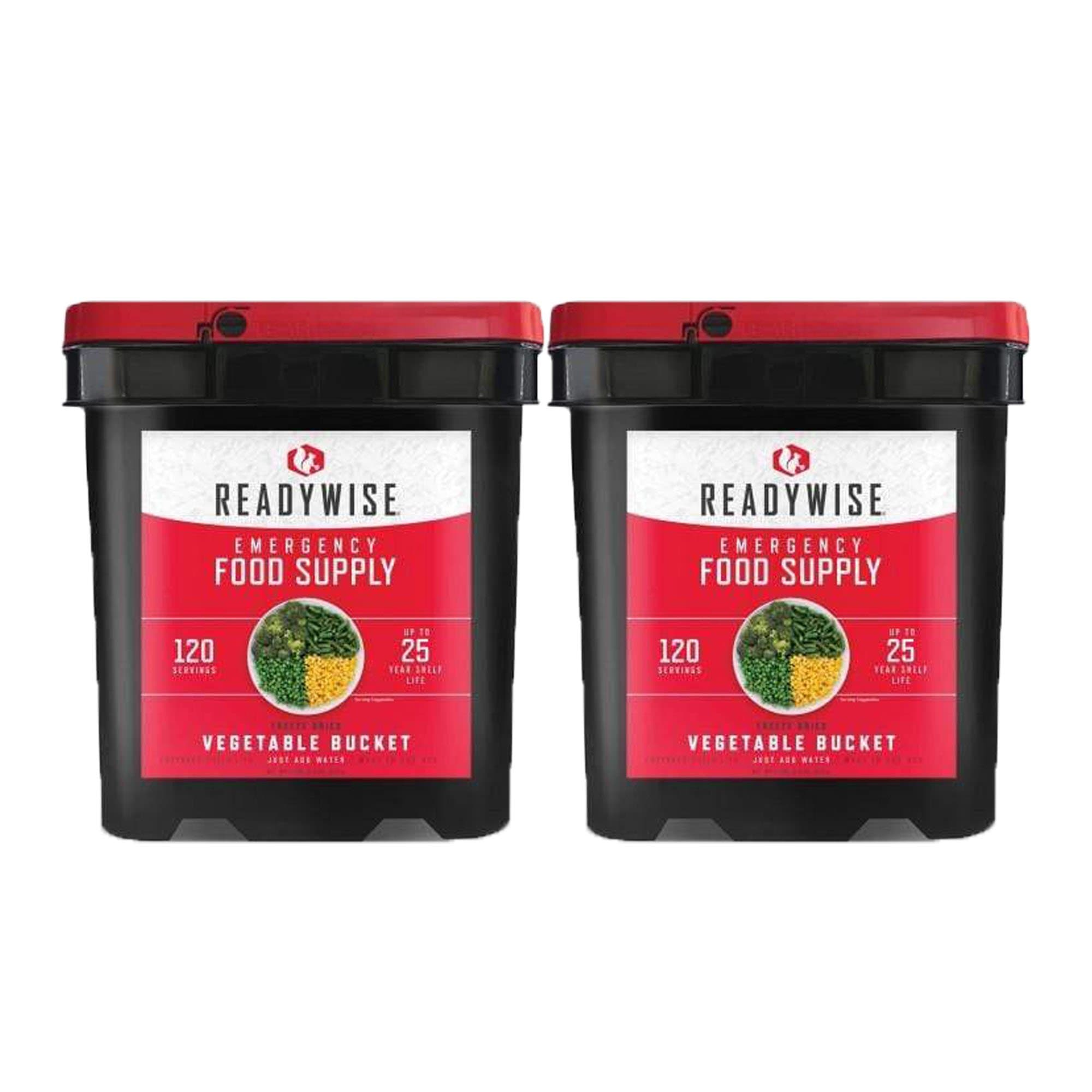 ReadyWise 240 Serving Vegetable Bucket Combo