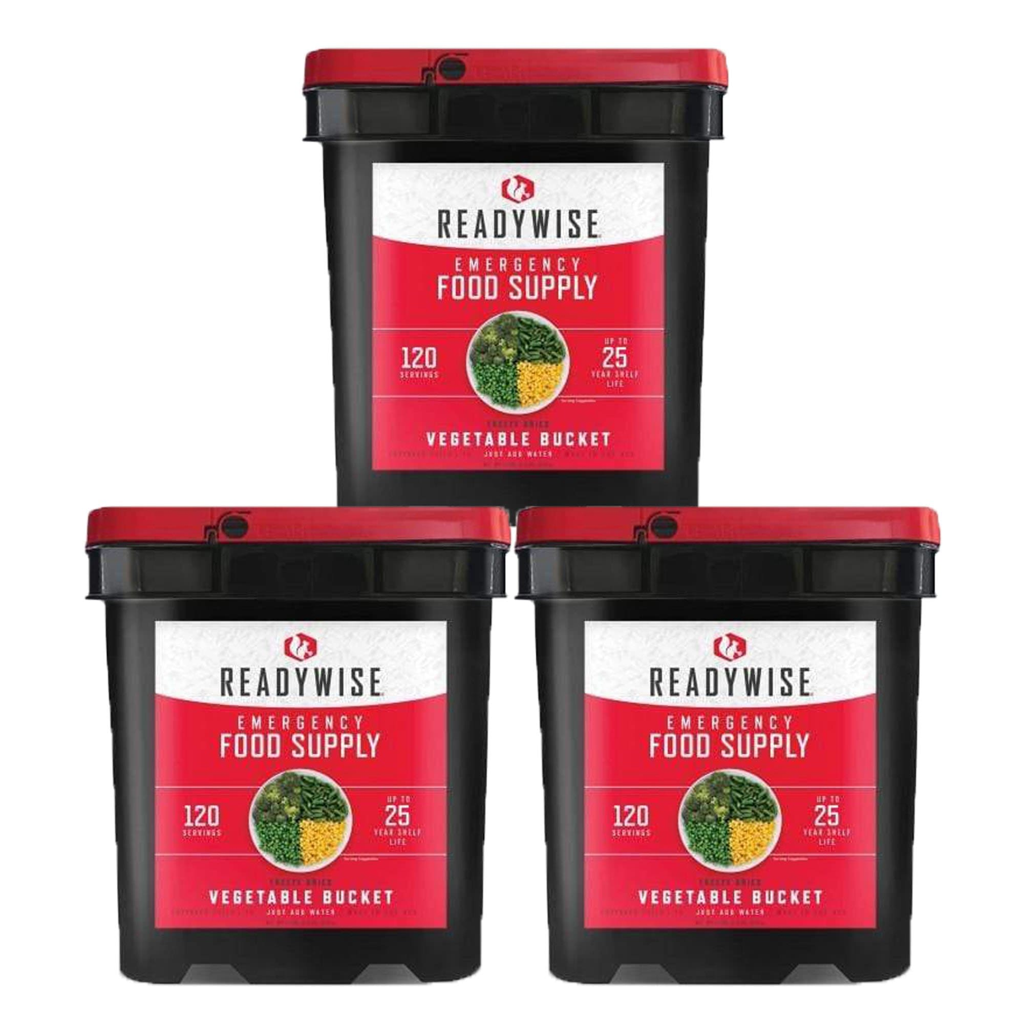 ReadyWise 360 Serving Vegetable Bucket Combo