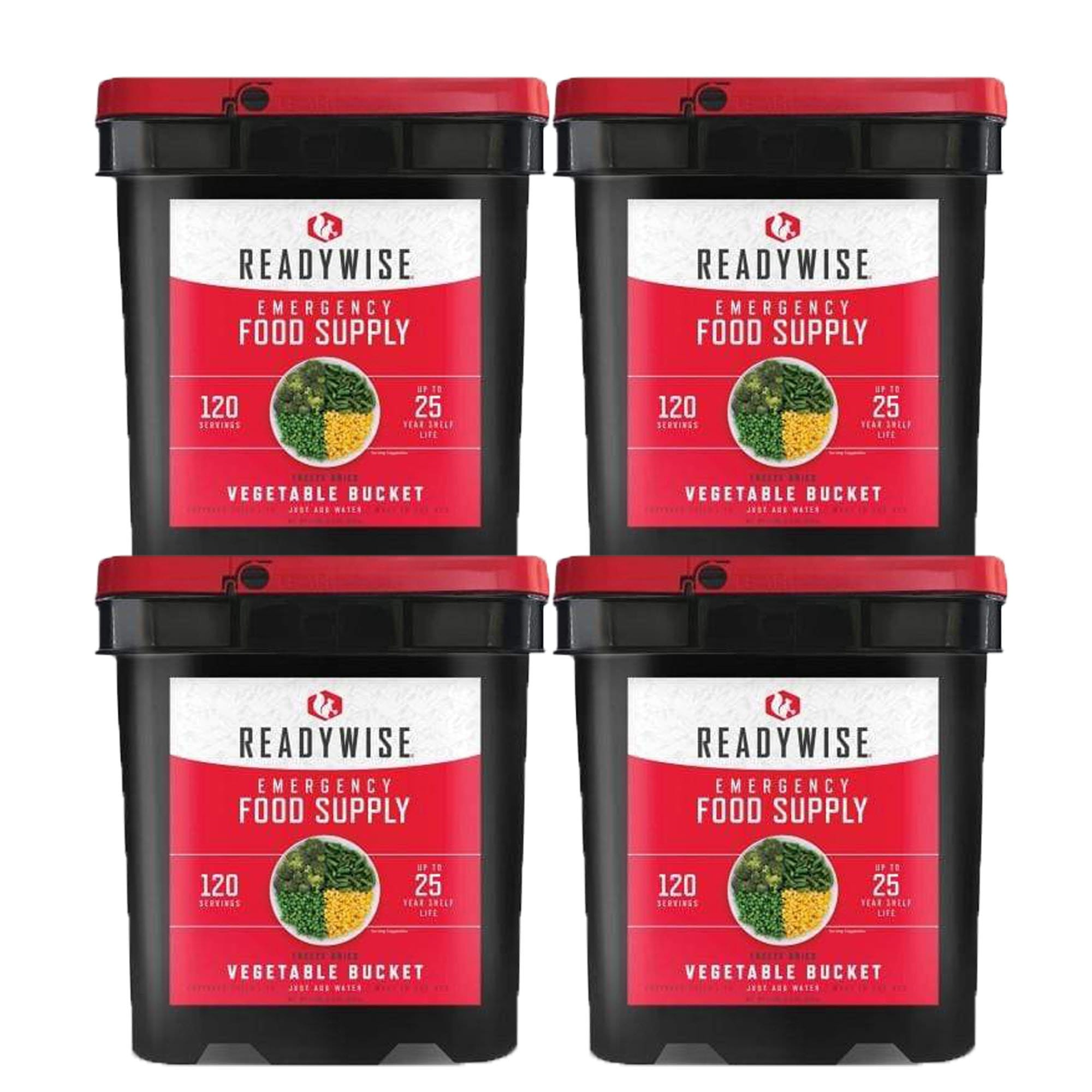 ReadyWise 480 Serving Vegetable Bucket Combo