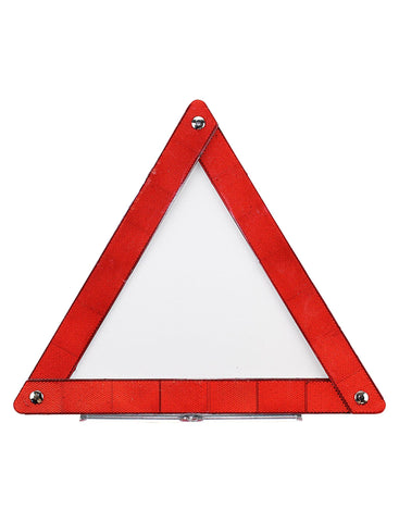 Reflecting Foldable Triangle with Stand