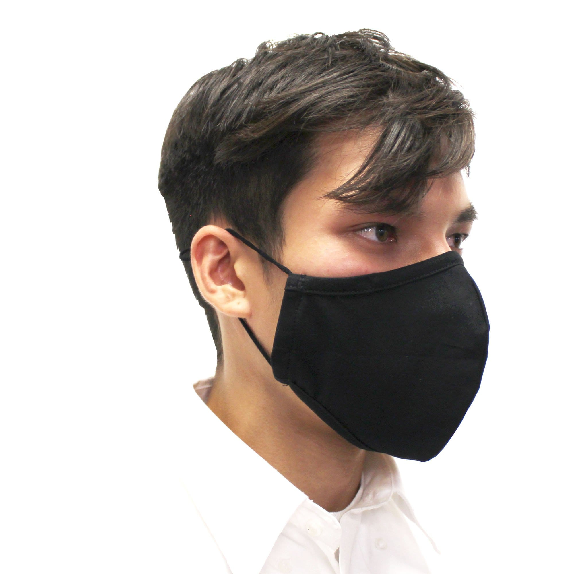 Reusable Face Mask, Black, V2 - Ready First Aid