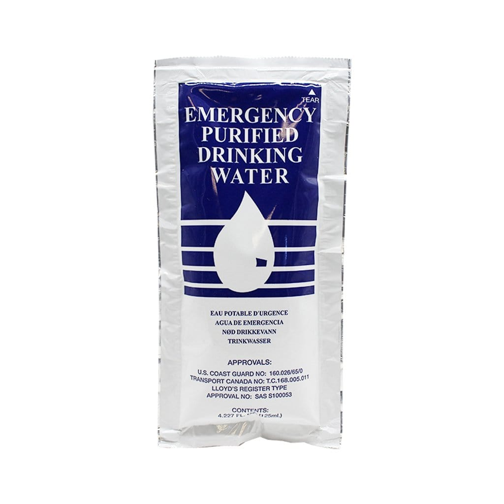 SOS Emergency Purified Drinking Water
