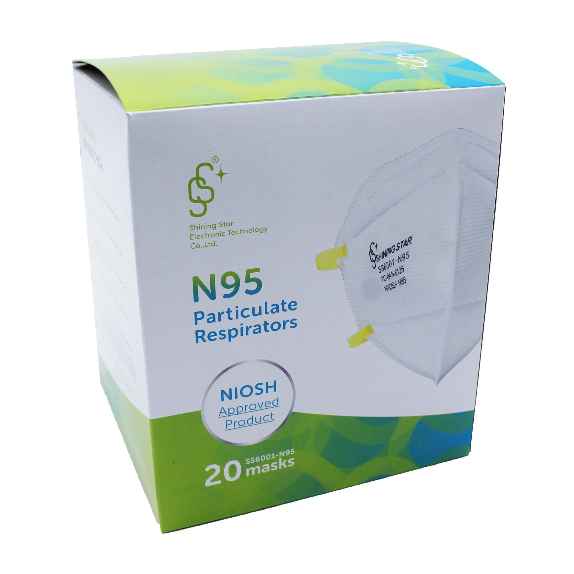 N95 Mask Particulate Respirator - SHINING STAR