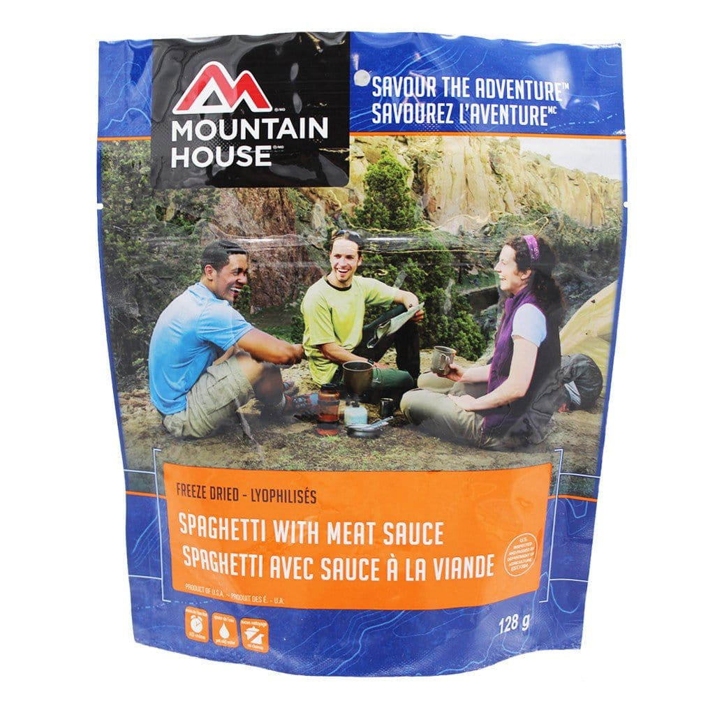 Spaghetti with Meat Sauce Pouch - Two Serving (Mountain House®)