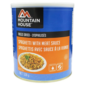 Spaghetti with Meat Sauce #10 Can (Mountain House®)